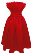 Plakinger: VALENTINES DAY SILK ORGANZA DRESS | Clothing,Clothing > Skirts -  Hiphunters Shop