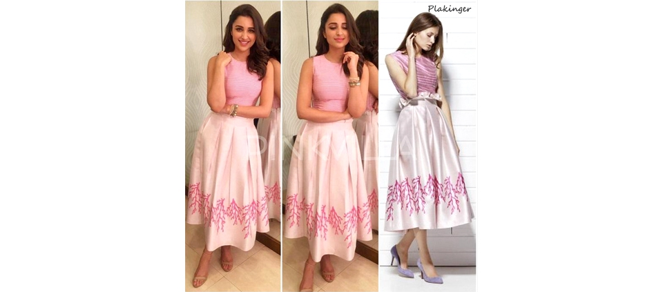 PARINEETI CHOPRA WEARING PLAKINGER IN MUMBAI, INDIA