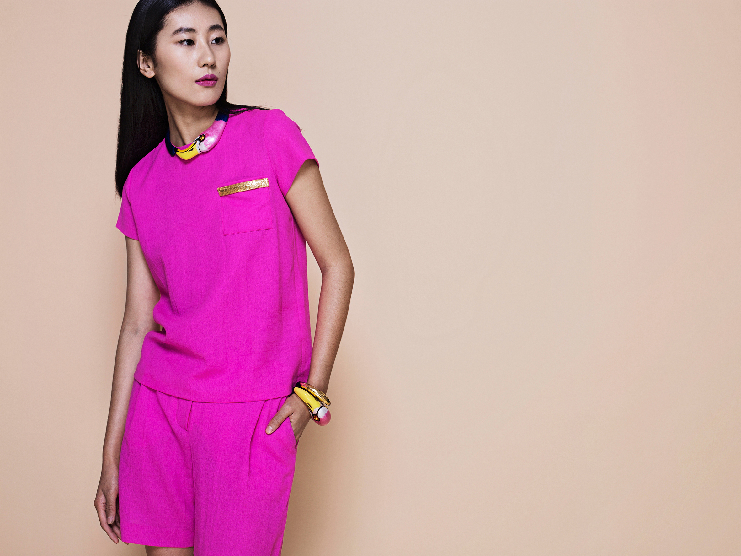 PLAKINGER SS16 PINK DUO