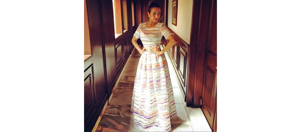MAlAIKA ARORA KHAN IN PLAKINGER BY YAHOO STYLE INDIA