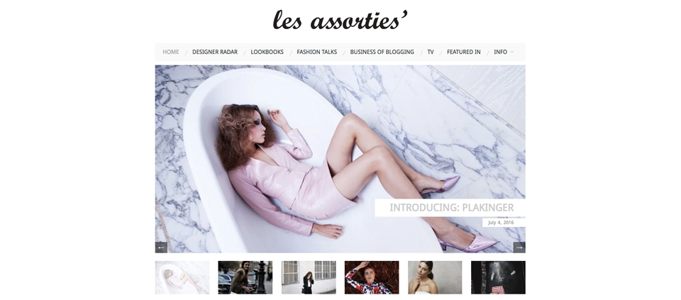 PLAKINGER INTERVIEW WITH LES ASSORTIES MAGAZINE GREECE