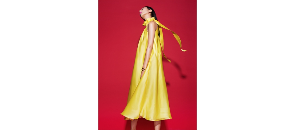 PLAKINGER CHINA DOLL SPRING SUMMER 2016 CAMPAIGN YELLOW
